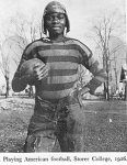 Benjamin Nnamdi Azikiwe playing football