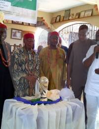 Igwe Kenneth Onyeneke Orizu III at a traditional event