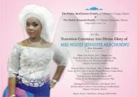 Jane Akachukwu Obituary