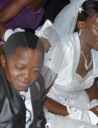 """Wedding Photo of Chinedu """"Aki"""" Ikedieze"""