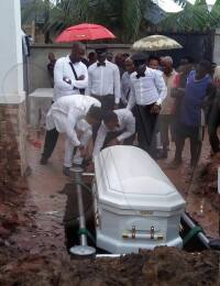 Chisom Jane Anekwe Burial place 2
