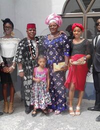 Chief Roland Ogbonna Ejiofor and family