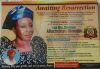 Christiana Afiachukwu Akachukwu Burial Poster