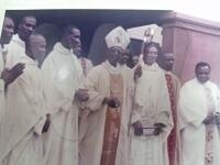 Ordination of Fr Ikechukwu Anyanwu by Most Rev. Felix Alaba Adeosin Job