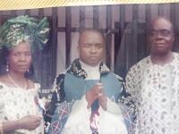 Parents of Rev. Fr. Ikechukwu Anyanwu
