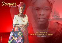 Virginia Afubene Ezeofor obituary Banner