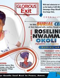 Mrs Roseline Nwamma Okoli-Ozoene