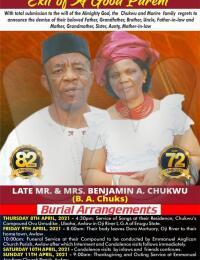 Late Mr Benjamin Chukwu