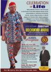 Christian Ikechukwu Anudu Obituary Banner