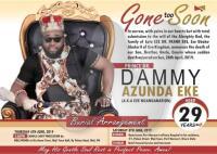 Dammy Eke Obituary Banner