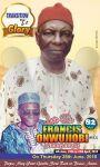 Francis Onwujiobi Obituary banner