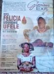Felicia Ufele -Obituary banner